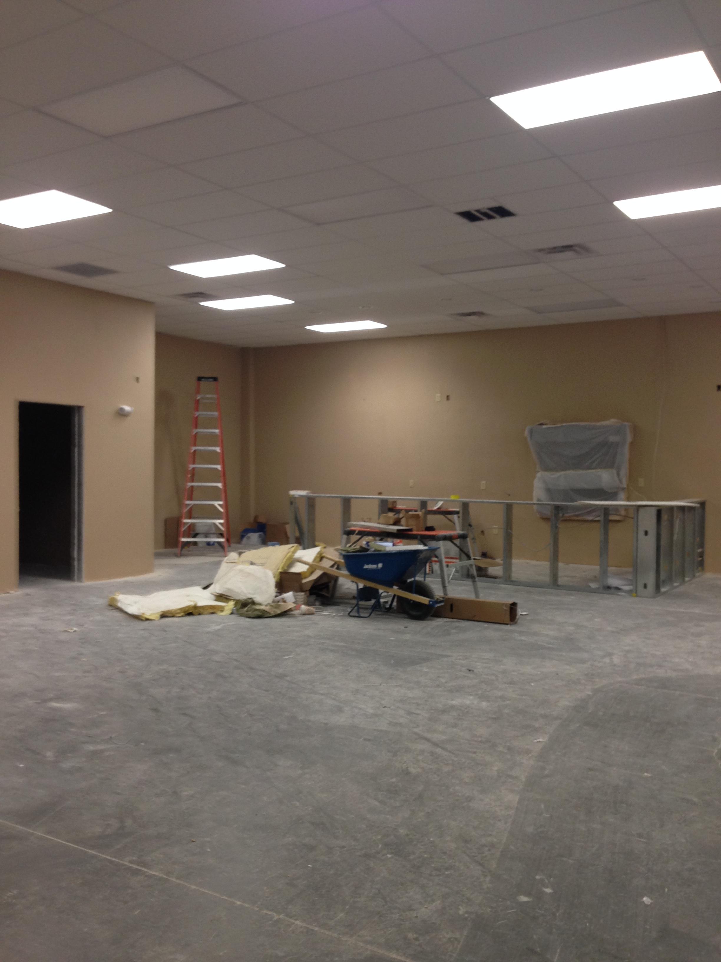 Lounge construction